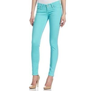 Levi's 31x30 Turquoise Demi Curve Skinny Jean